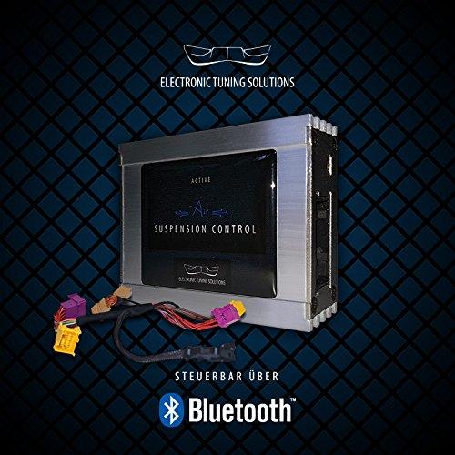 A6 A7 4G Tieferlegungsmodul Luftfahrwerk Gewindefahrwerk ASC ETS Systems Bluetooth - Fahrwerk-modul