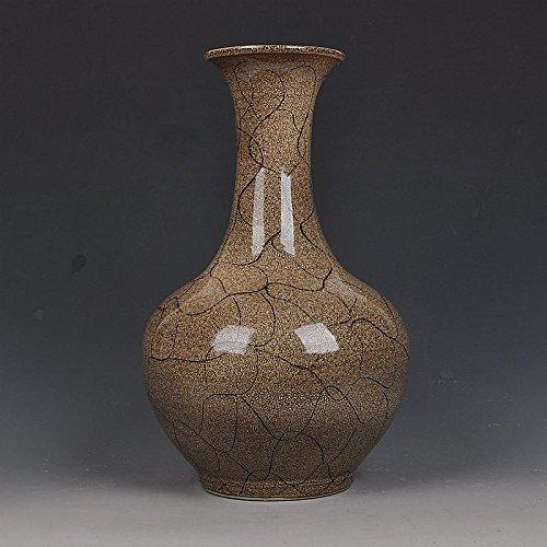 JHDH2-D'epoca Ming bule vaso in porcellana smaltata, design soggiorno arredamento moderno con decorazioni d'epoca,H - 36 * 20cm