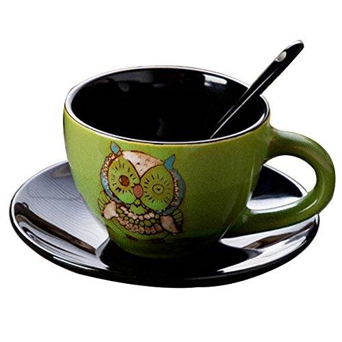 Schöne Keramik Geschenk Kaffeetasse Tee Tasse Milch Tasse für Home/Office/Restaurant-A1