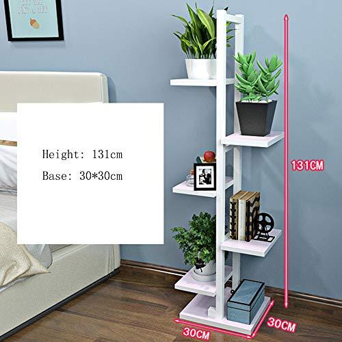 Mensole duo scaffale a 5 piani per espositori portafiore in ferro per porta da soggiorno e camera da letto e da interno/esterno scaffali (colore : 1004)