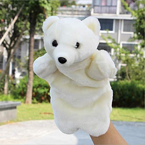 VVV Oso Polar Marioneta Mano Bebé Niños Desarrollo