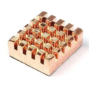 Gosear® 3 PC refroidissement le dissipateur de chaleur cuivre dissipateurs thermiques pour Raspberry Pi ver. 2.0 modèle B B + et mémoire de RAM VGA Cooler