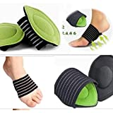 #6: Maharsh 1 Pair Foot Support Strutz Cushioned Arch Helps Decrease Plantar Fasciitis Pain