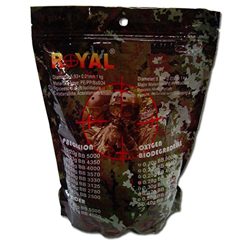 Royal Billes pour airsoft, 0.28 BIO