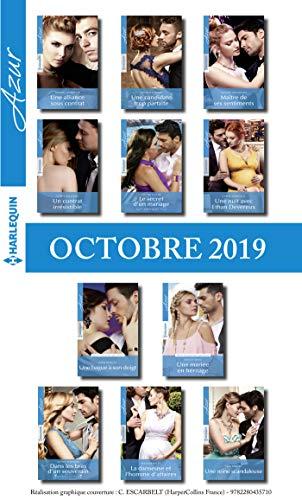 11 romans Azur (n°4136 à 4146 - Octobre 2019)