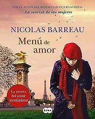 Menú de amor par Nicolas Barreau