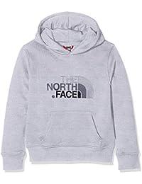 The North Face T933H4DYX Sweat à Capuche Mixte Enfant, Tnf Light Grey Heather, FR : XL (Taille Fabricant : XL)