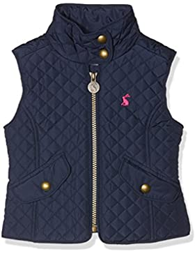 Joules Girls Silvan Traditional Warm Quilted Casual Bodywarmer Gilet