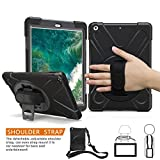iPad Air Case, BRAECN Heavy Duty Full-body Rugged PC Silicone Case Cover