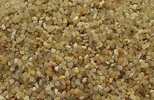 Müller GmbH 25 kg Aquariumsand Aquariumkies Natur beige gerundet und feuergetrocknet 19 Körnungen (1,6-2,5mm)