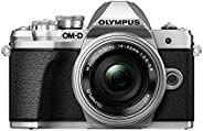 Olympus  E-M10 Mark III 14-42EZ Kit (16 Megapiksel, 14-42mmEZ Lens, 4K Video, 5-Eksen IS, Wi-Fi), Gümüş/Gümüş