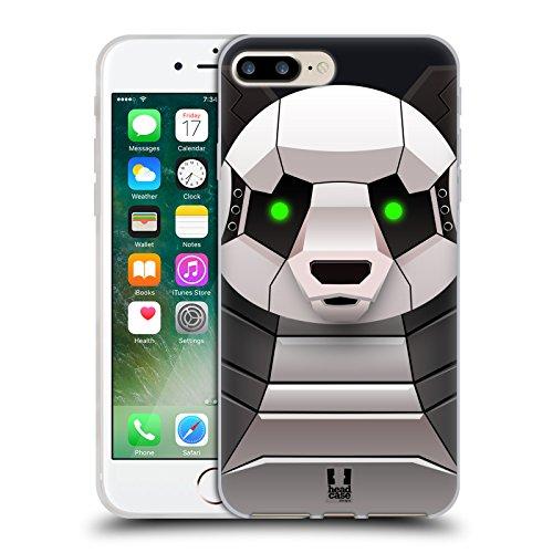 Head Case Designs Sich Wohlfühlen Piper Der Mops Soft Gel Hülle für Apple iPhone 6 / 6s Panda