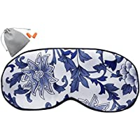 MSSilk Schlafmaske aus reiner Seide, extra groß, atmungsaktiv, mit Brokat-Aufbewahrungstasche und Ohrenstöpseln... preisvergleich bei billige-tabletten.eu