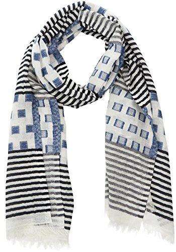 hackett-london-herren-schal-square-line-scarf-blau-551blue-000