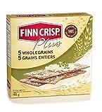 Finn Crisp Plus - Thin Crispbread - 5 Wholegrains - 190g (Case of 9)
