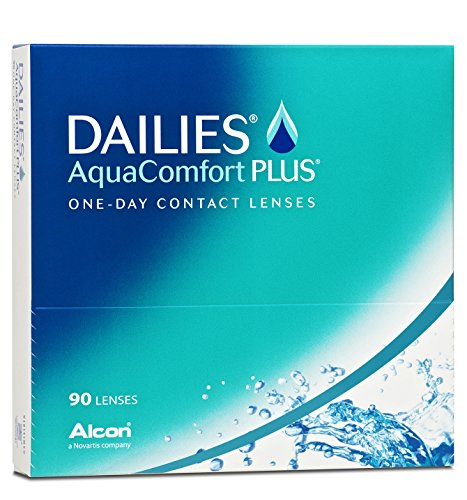 Dailies AquaComfort Plus Tageslinsen weich, 90 Stück / BC 8.7 mm / DIA 14.0 / -2,75 Dioptrien - 2