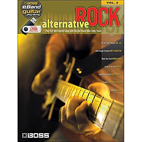 Boss eBand Guitar Play-Along Volume 2: Alternative Rock. Partituras, Audio Digital para Guitarra, Acorde de Guitarra