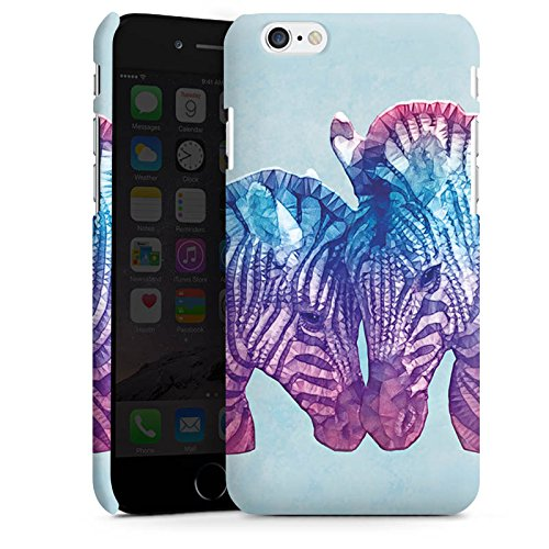 Apple iPhone X Silikon Hülle Case Schutzhülle Zebra Fohlen Muster Premium Case matt