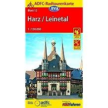 ADFC-Radtourenkarte 12 Harz /Leinetal 1:150.000, reiß- und wetterfest, GPS-Tracks Download (ADFC-Radtourenkarte 1:150000)