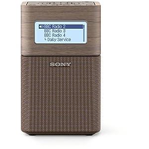 Sony XDRV1BTDT.EU8 Radio portable digitale FM DAB/DAB+ Bluetooth/NFC Marron