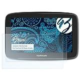 Bruni Schutzfolie für Tomtom GO Basic (6 inch) Folie - 2 x glasklare Displayschutzfolie