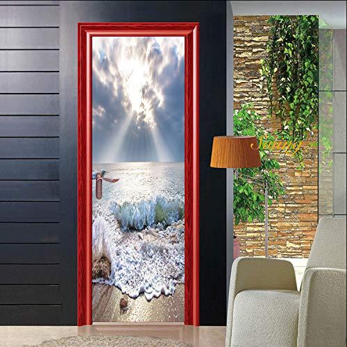 LK-YJ-Sprühen Sie kreative Tür-Aufkleber-Persönlichkeits-kreative Hauptmode-dekorative Aufkleber