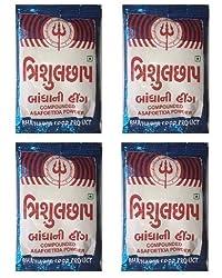 Trishul Compounded Asafoetida Powder (Hing) - 1 Kg (250 Gm x 4)