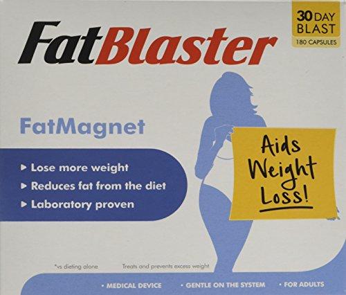 Fatblaster Fatmagnet Fat Binder Diet Pill Weight Loss Aid Fat Loss Supplement For Men Women 180 Capsules 1 Month Supply
