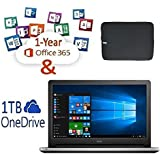 """Newest Dell Inspiron Touchscreen 15.6"""" FHD Backlit Keyboard Flagship High Performance Laptop PC, Intel Core I5-6200U Dual-Core, 8GB, 1TB, RealSense 3Dcamera, Windows 10, 1-year Office 365 Personal"""