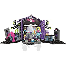 Mega Bloks Monster High Cementerio del partido de jardín Conjunto de construcción