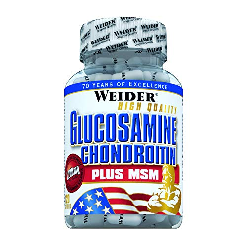 Weider, Glucosamine&Chondroitin + MSM, 1er Pack (1x 120 Kapseln)