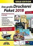 Das große Druckerei Paket 2018 Einladungen, Etiketten, Glückwunschkarten, Visitenkarten, CD/DVD Druckerei - 50.000 ClipArts und 5.000 lizenzfreie Fotos -