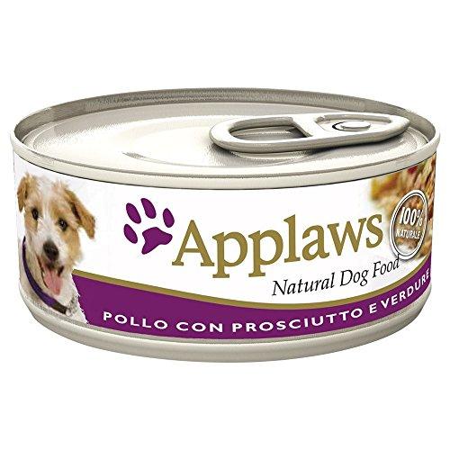 APPLAWS DOG In lattina con pollo prosciutto e verdure umido cane gr. 156