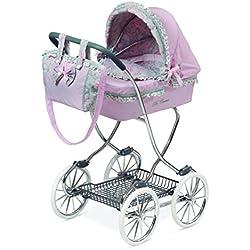 Jose Cuevas Jose cuevas8021945x 80x 90cm cromo de la muñeca cochecito de bebé con bolsa y paraguas