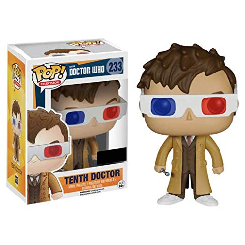funko pop doctor who Figur POP. Doctor Who 10th Doctor with 3d Glasses Exclusive
