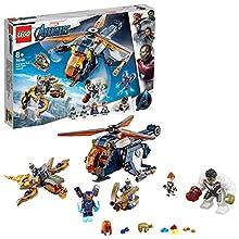 LEGO- Avengers Marvel Il Salvataggio di Hulk Set di Costruzioni con Minifigure e Action Figure con Elicottero, Multicolore, 76144