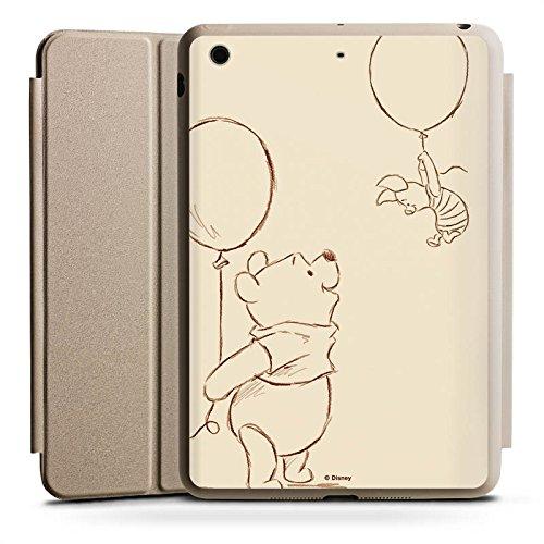 Apple iPad mini 4 Smart Case Hülle Tasche mit Ständer Smart Cover Disney Winnie Puuh & Ferkel Merchandise Fanartikel (Ipad Disney Cover)