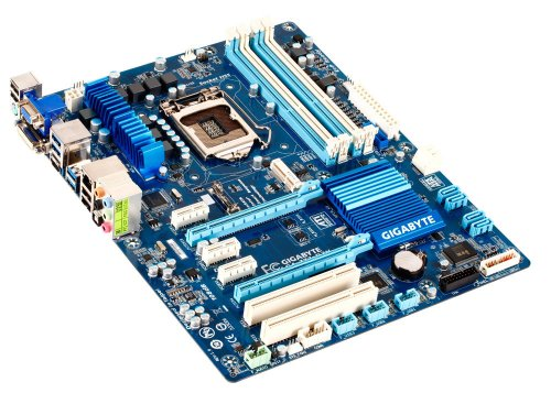 Gigabyte GA-Z77-D3H Sockel 1155 Mainboard (ATX, 4X DDR3 Speicher, HDMI, DVI-D, 2X SATA III, 4X USB 3.0) -
