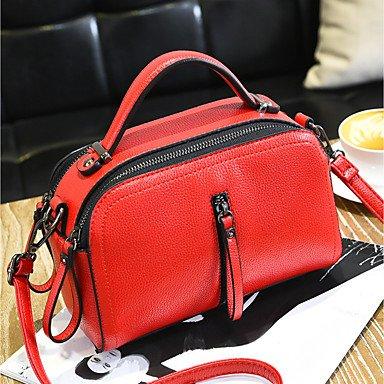 Frauen Handtasche Schöne CasualShoulder Tasche Drak Red