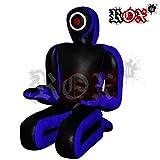 Soumission style combat Sucette par Rox Coupe Double face, perforation frappant Sucette brazilaian jiujistsu Formation Sac 5m & 6m Bleu Noir (vide) noir Bleu/noir 5 Foot (1.5 meters)