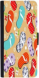 Snoogg Abstract Summer Backgrounddesigner Protective Flip Case Cover For Lg G2