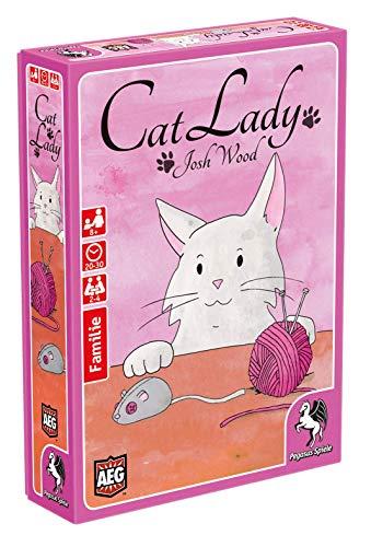 Pegasus Spiele 18313G Cat Lady German Edition
