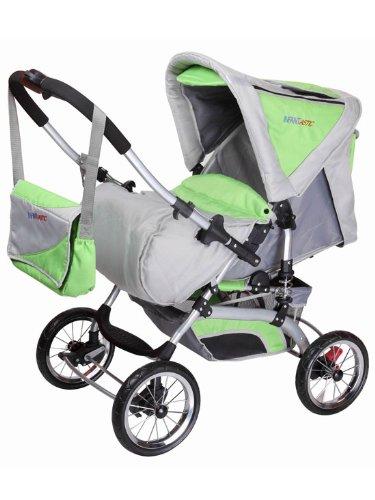 infantastic KDW02grüngrau Kombi Kinderwagen