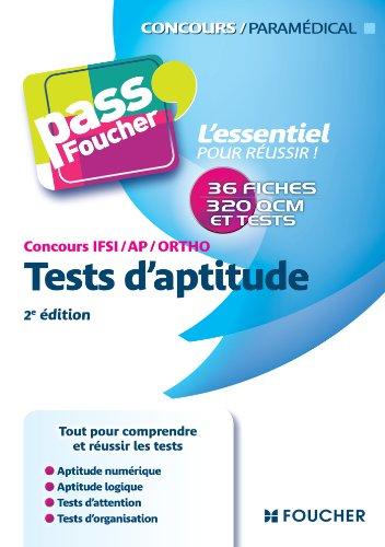 Pass'Foucher - Concours IFSI - AP - Ortho Tests d'aptitude 2e édition