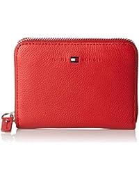 Tommy Hilfiger Damen Basic Leather Compact Z/A Wallet Geldbörse, 10x3x14 cm
