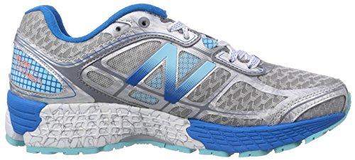 New Balance NBW860SB5 Scarpe Sportive Argento (Silber (SB5 SILVER/BLUE))