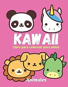 KAWAII Libro para colorear para