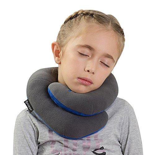 BCOZZY Enfants Oreiller de voyage pour le menton- Supporte la tête, le cou et le menton pour un confort maximal, quelle que soit la position assise. U...