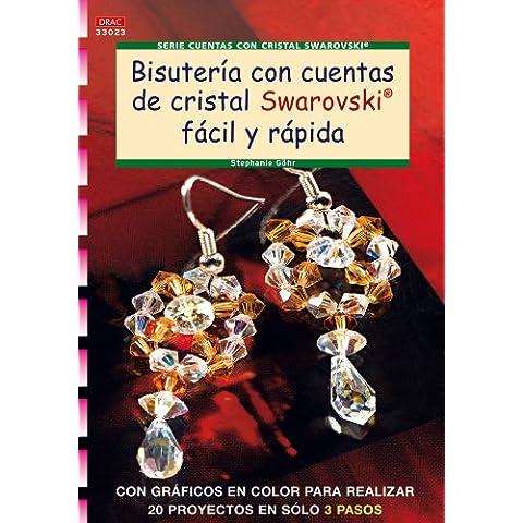 Bisuteria con cuentas de cristal swarovski facil y rapida