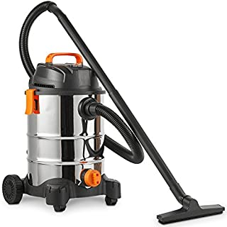 VonHaus 3 in 1 Wet and Dry Bagless 30L Vacuum Cleaner with Blower | 1250W | Powerful 17Kpa Suction | Large Capacity | Includes Floor Brush and Crevice Tool